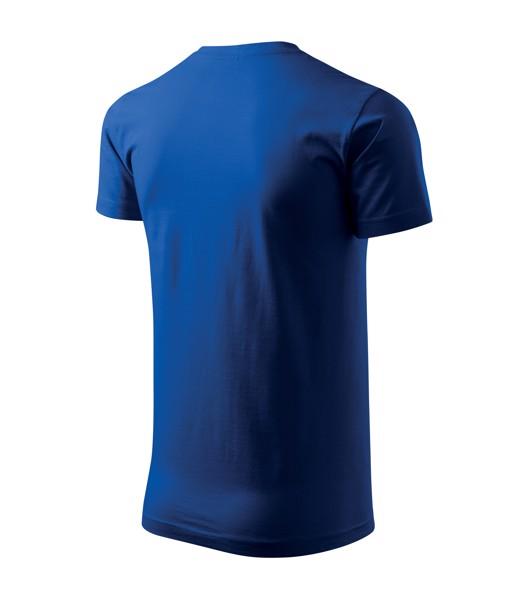 Tričko pánské Malfini Basic - Královská Modrá / M