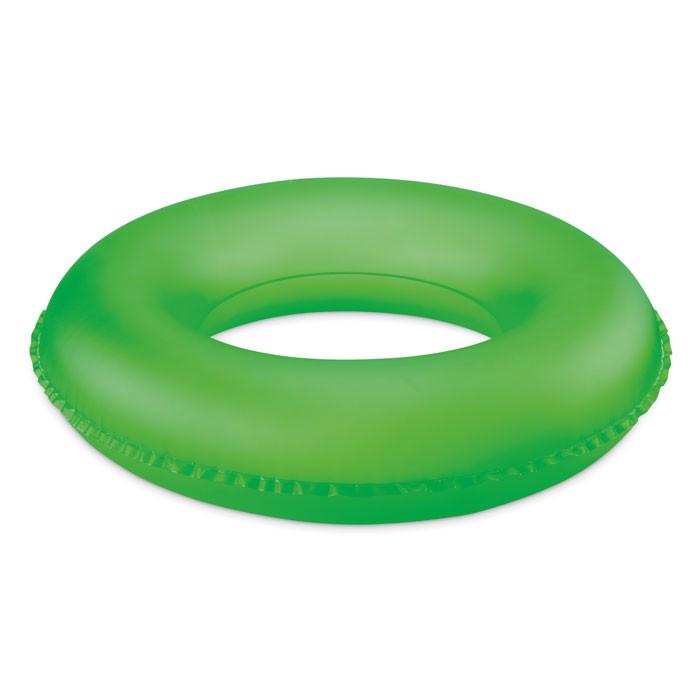 Inflatable swim ring Donut - Neon Green