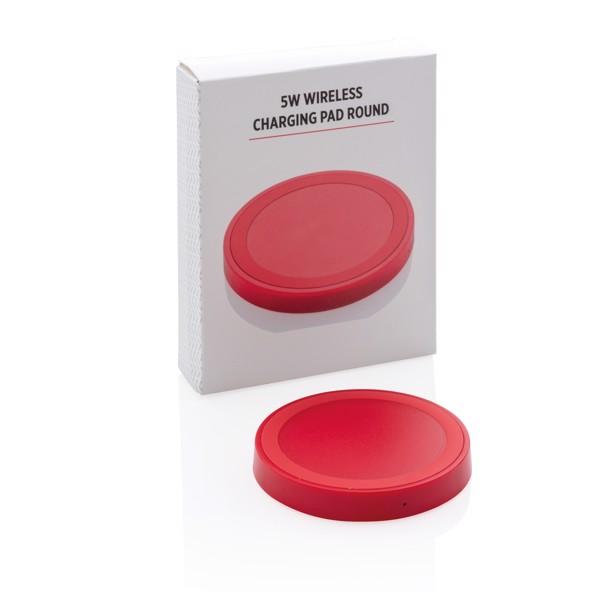 Základní bezdrátová nabíječka 5W - Červená
