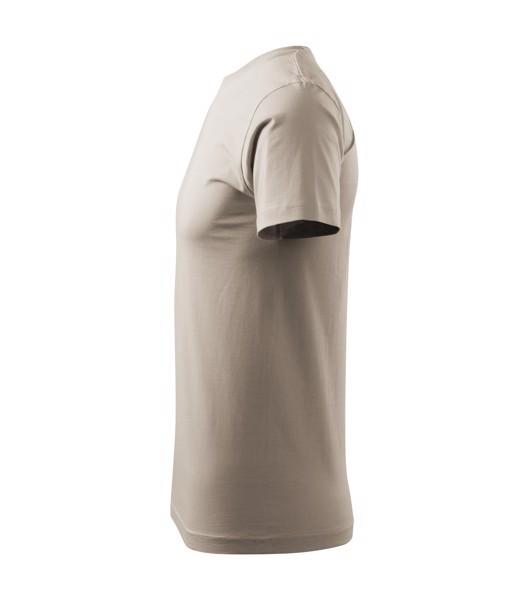 Tričko unisex Malfini Heavy New - Ledově Šedá / XL