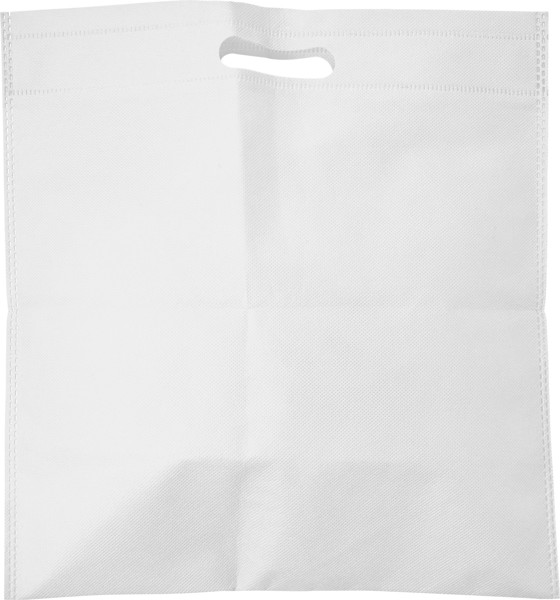 Nonwoven (70 gr/m²) document bag - White