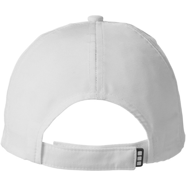 Momentum 6-panel cool fit sandwich cap - White