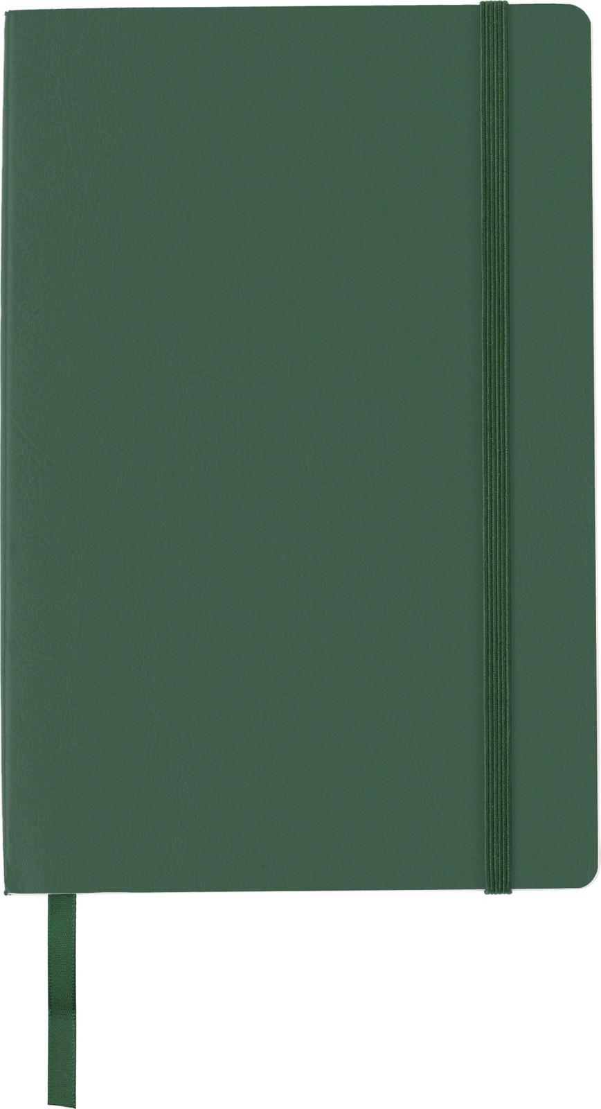 PU notebook - Green