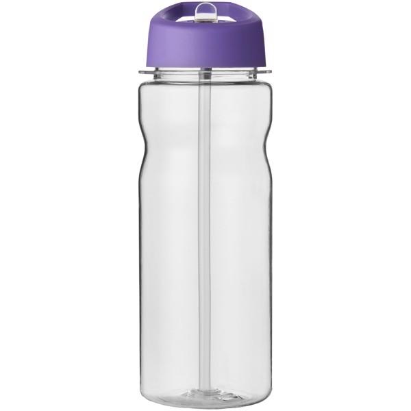 H2O Base Tritan™ 650 ml spout lid sport bottle - Transparent / Purple