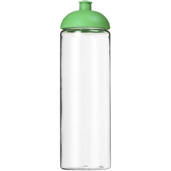 H2O Vibe 850 ml sportovní lahev s kupolovitým víčkem - Průhledná / Zelená