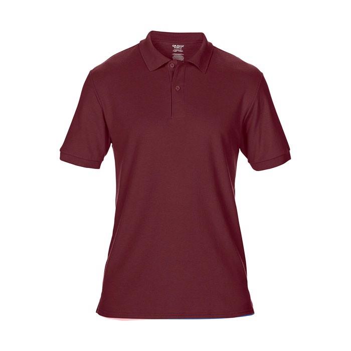 Men's Polo Shirt 207/220 g/ Dryblend Double Pique 75800 - Maroon / XL