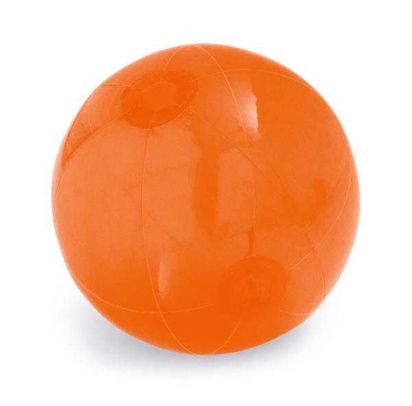 PECONIC. Inflatable beach ball - Orange