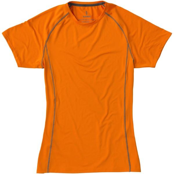Dámské triko Kingston s krátkým rukávem, s povrchovou úpravo - Orange / M