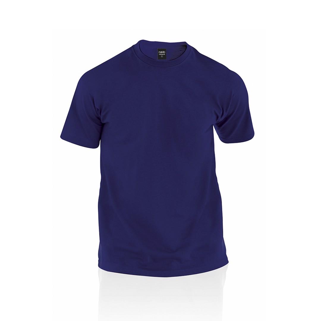 Camiseta Adulto Color Premium - Marino / S