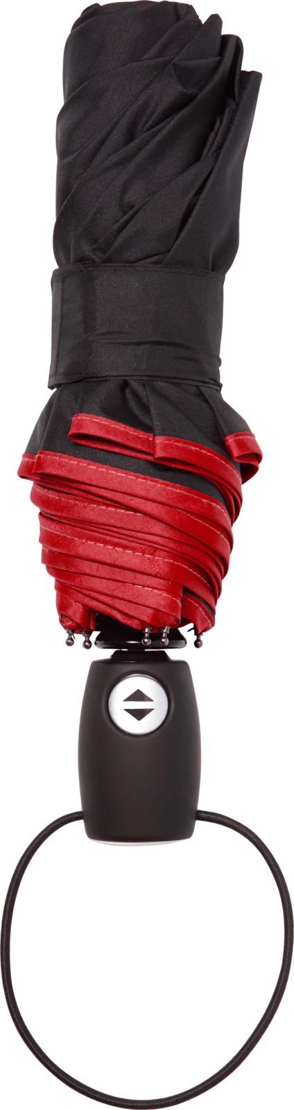 Pongee (190T) umbrella - Red