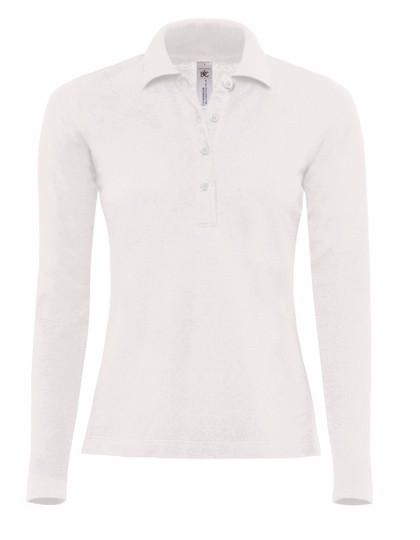 Polo Safran Pure Longsleeve / Women - White / XL