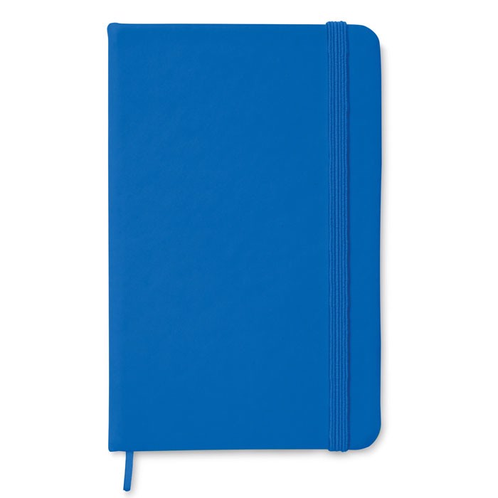 A6 notebook lined Notelux - Royal Blue