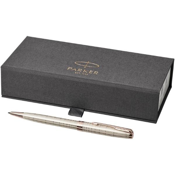 Kuličkové pero Sonnet - Silver / Rose Gold