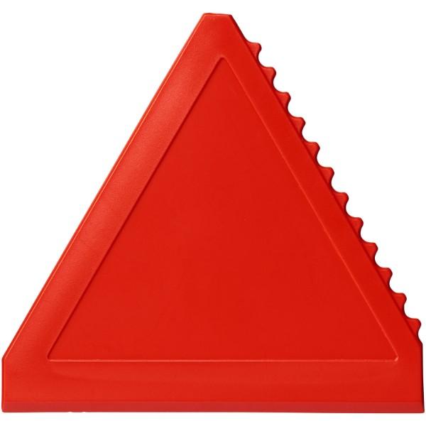 Averall dreieckiger Eiskratzer - Rot