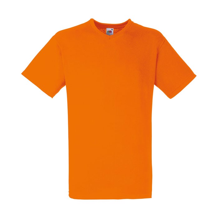 V-neck t-shirt 165 g/m² V-Neck T-Shirt 61-066-0 - Orange / 3XL