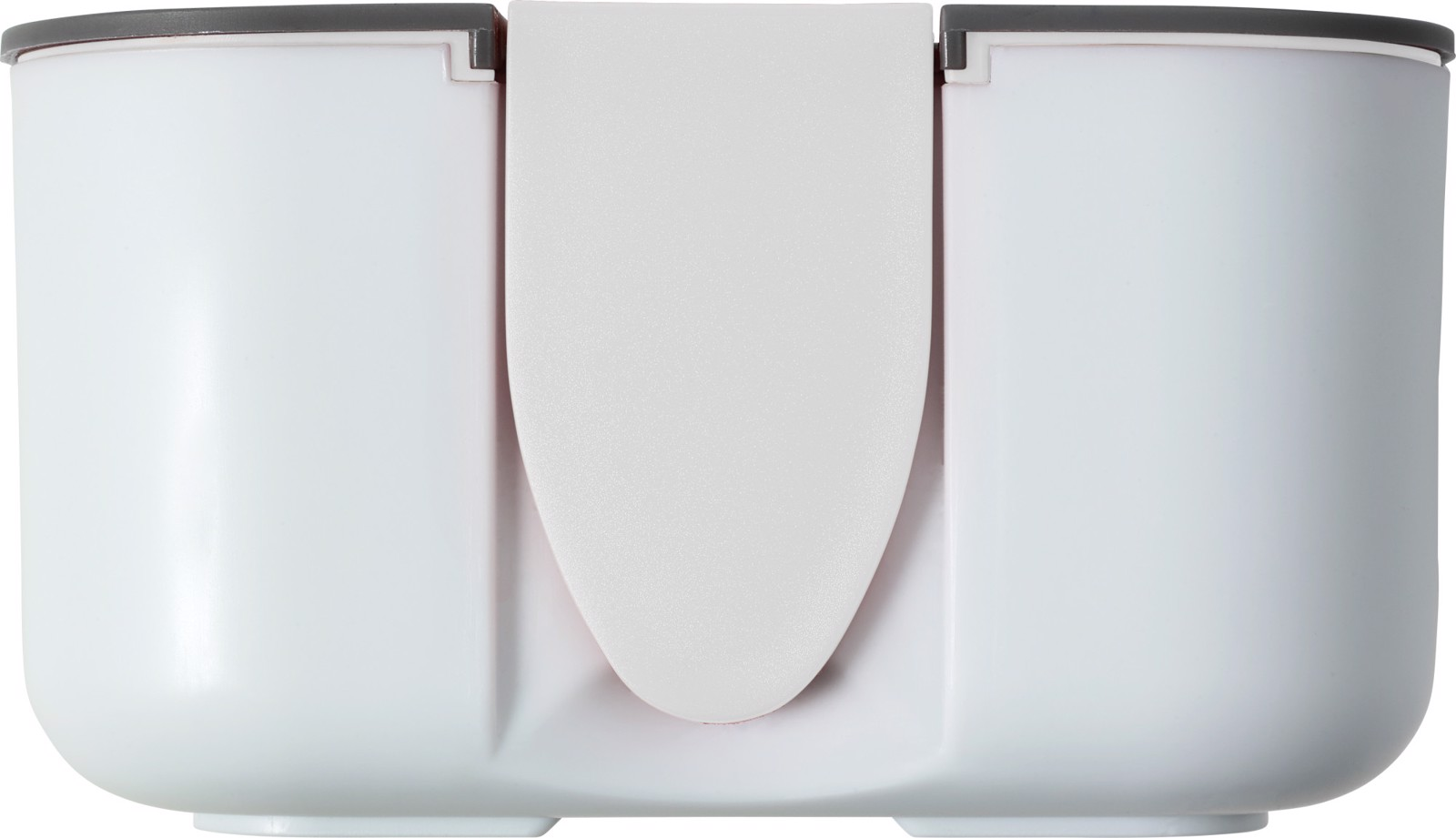 PP and silicone lunchbox - White