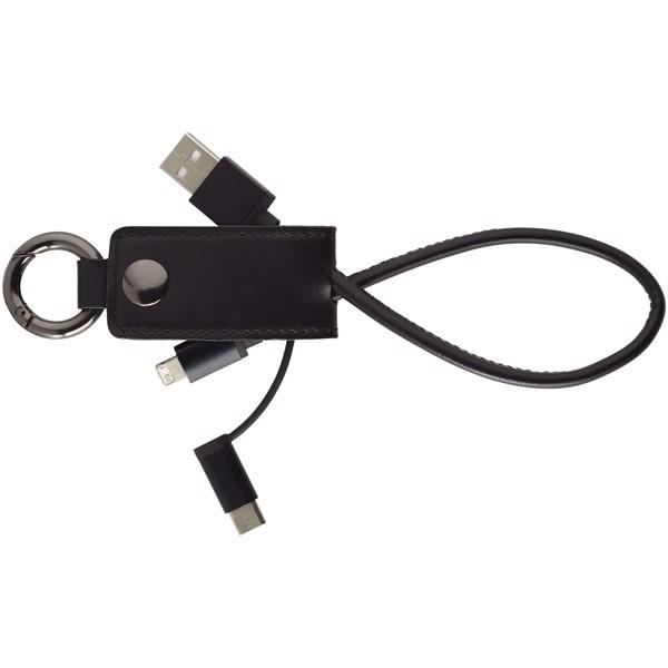 Napájecí kabel Posh 3 v 1 - Černá