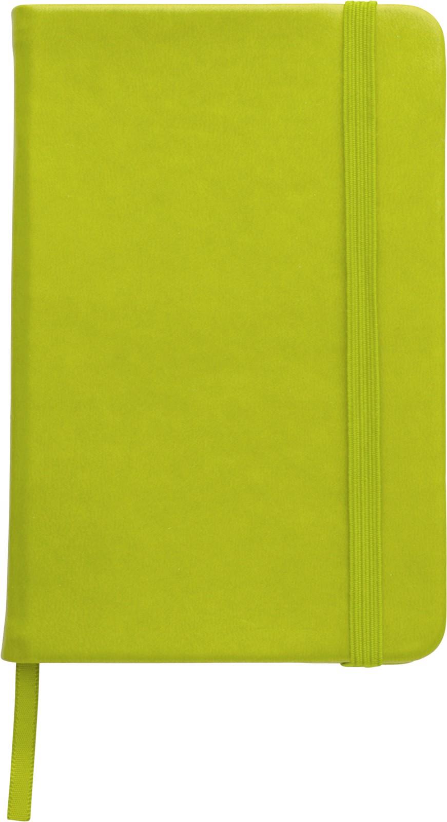PU notebook - Light Green