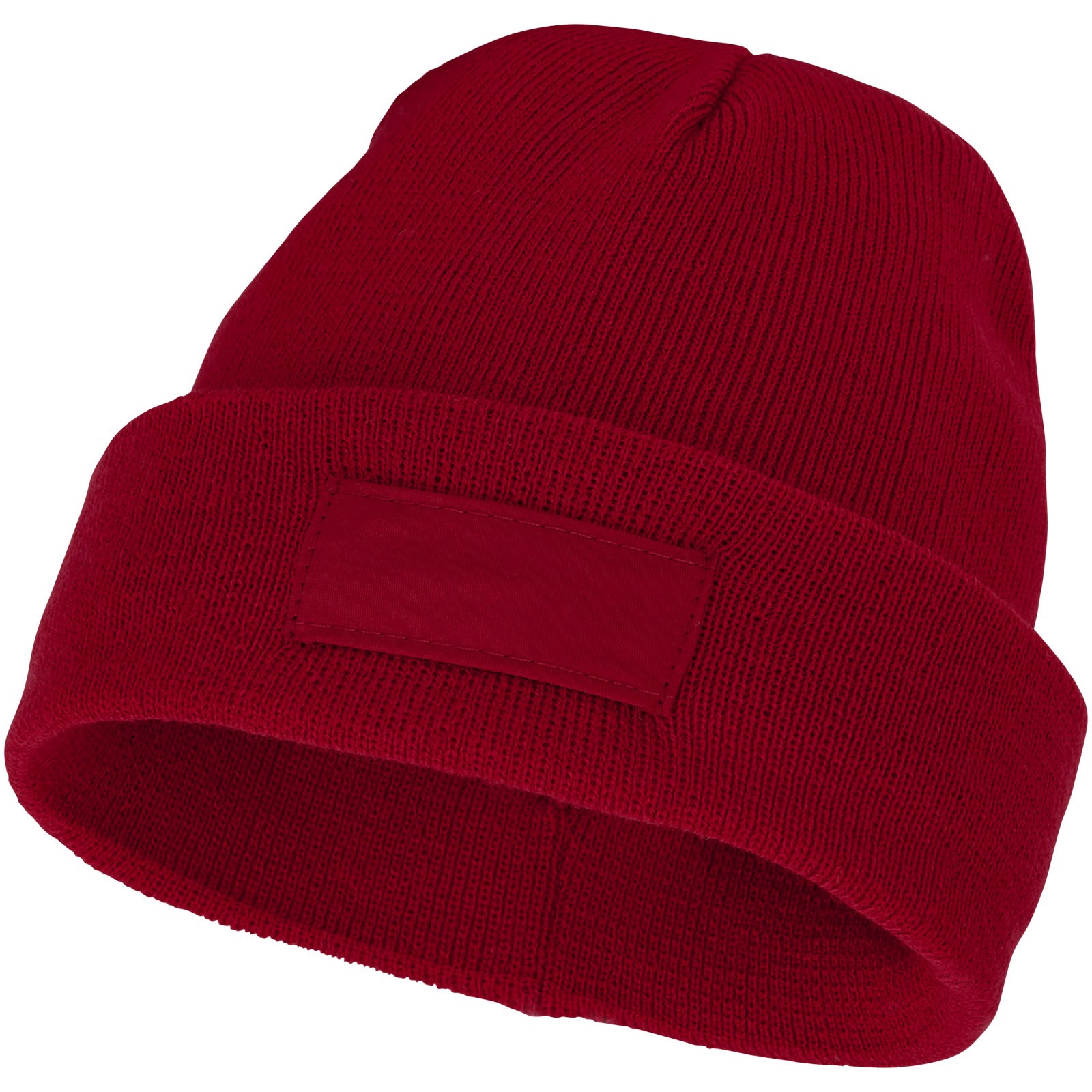 Boreas beanie with patch - Red