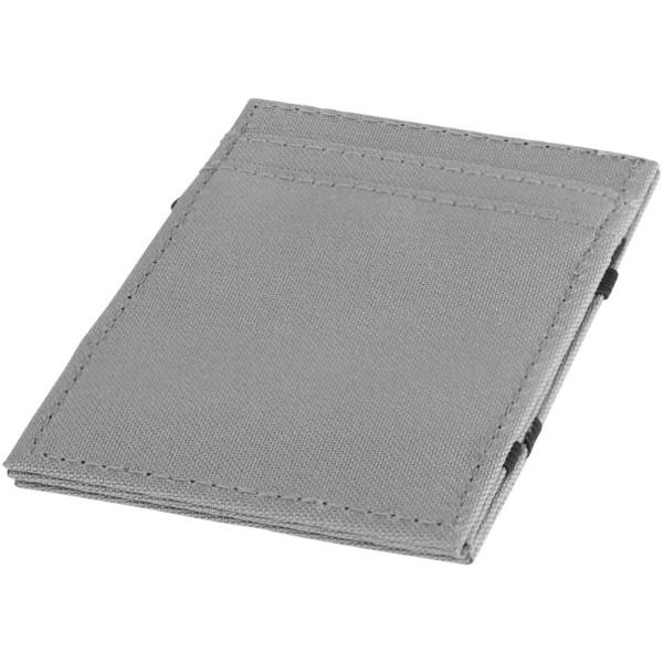 Adventurer RFID secure flip-over wallet - Grey