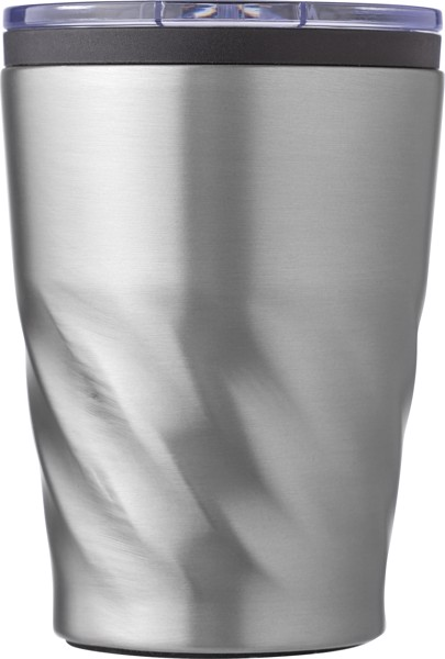 PP and stainless steel mug - Silver