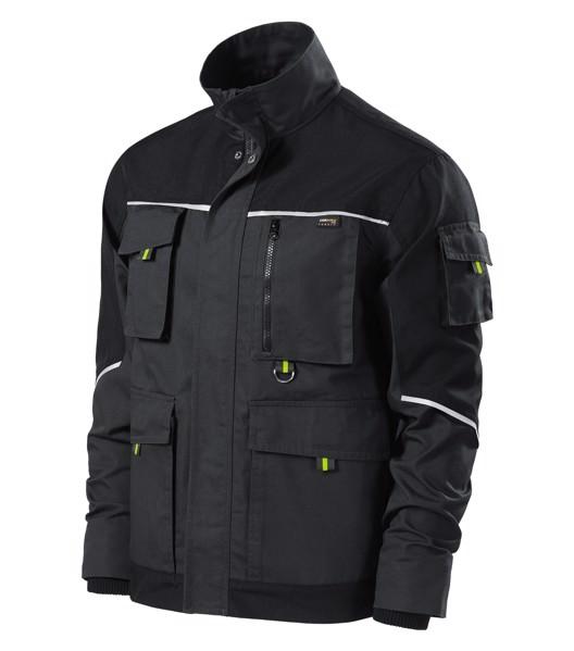 Pracovní bunda pánská Rimeck Ranger - Ebony Gray / 2XL