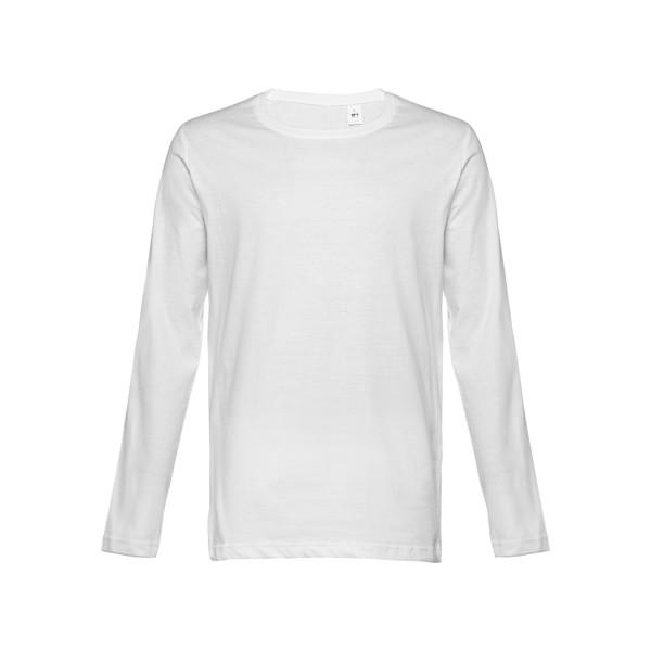 THC BUCHAREST WH. Pánské tričko s dlouhým rukávem - Bílá / XXL