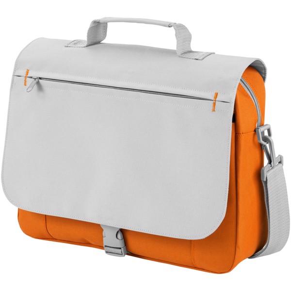 Pittsburgh conference bag - Orange / Light grey