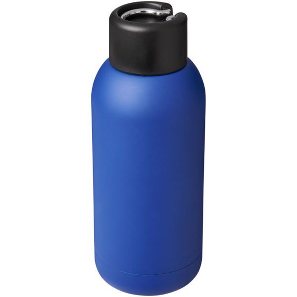Brea 375 ml vacuum insulated sport bottle - Blue