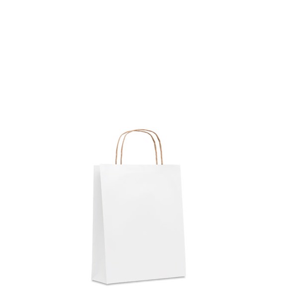 Mała torba prezentowa Paper Tone S - biały