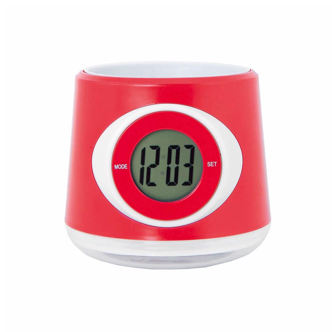 Reloj Macetero Zelmo - Rojo