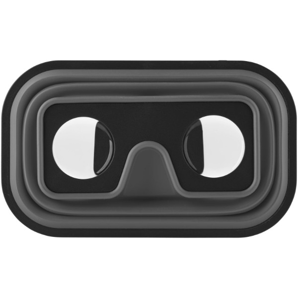 Sil-val faltbare Silikon Virtual Reality Brille - Grau