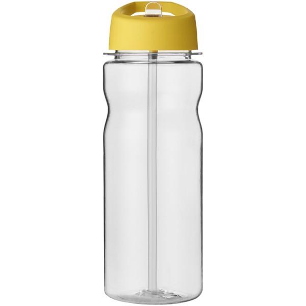 H2O Base Tritan™ 650 ml spout lid sport bottle - Transparent / Yellow