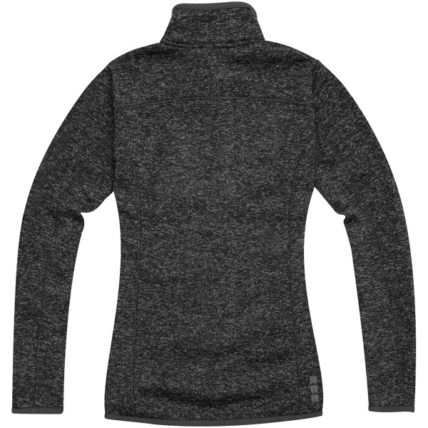 Tremblant ladies knit jacket - Heather Smoke / S
