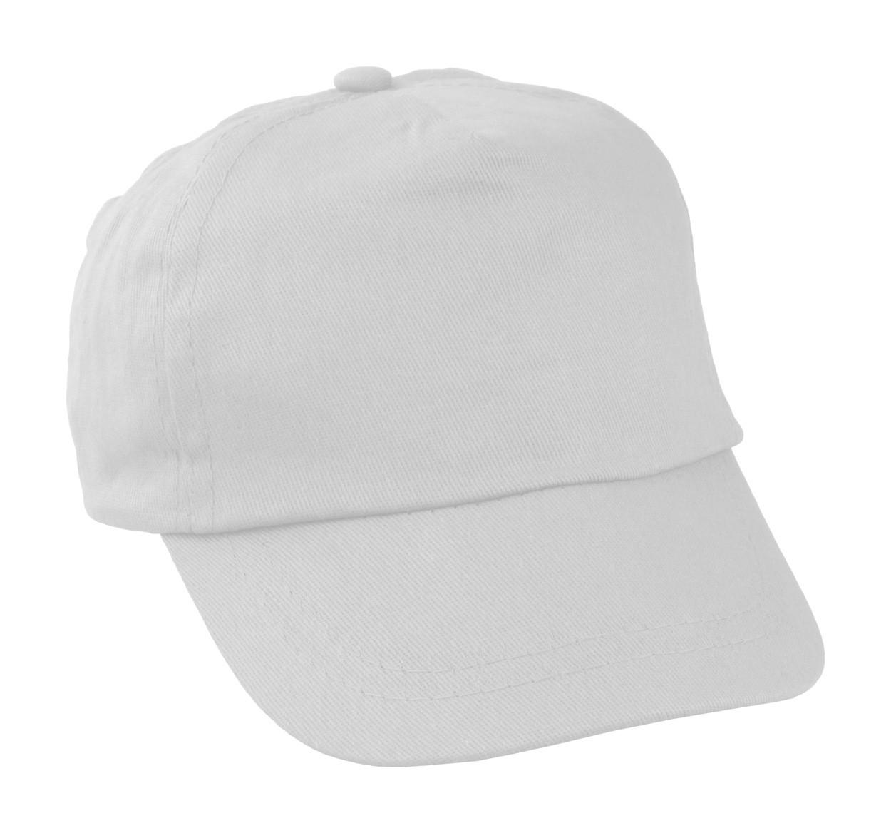 Şapcă Baseball Pentru Copii Sportkid - Alb