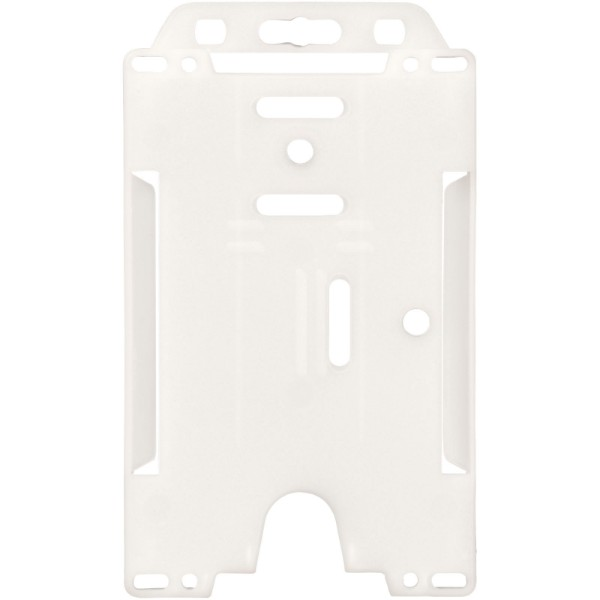 Pierre transparent badge holder - White