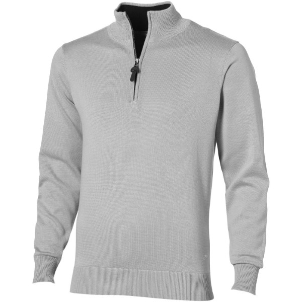 Set quarter zip pullover - Grey / 3XL