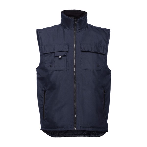 THC STOCKHOLM. Pracovní vesta s vycpávkou - Námořnická Modrá / L