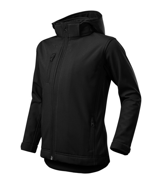 Softshell Jacket Kids Malfini Performance - Black / 12 years