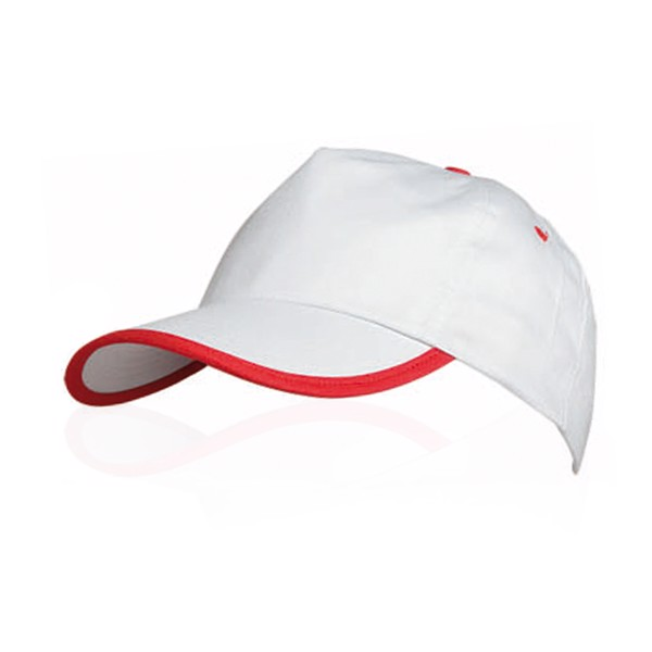 Cap Estepona - White / Red