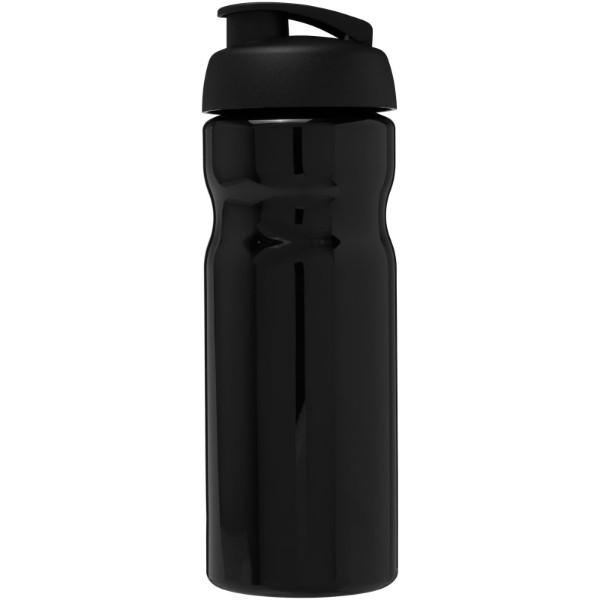 Sportovní láhev s vyklápěcím víčkem H2O Base® 650 ml - Černá