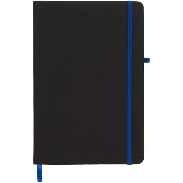 Zápisník Medium noir - Černá / Modrá