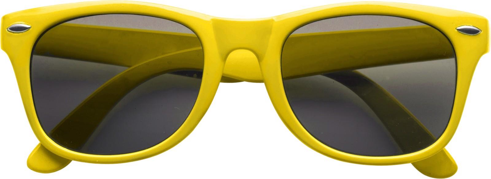 PC and PVC sunglasses - Yellow