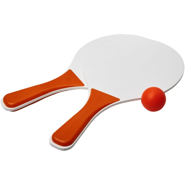 Bounce Strandspiel-Set - orange / weiss