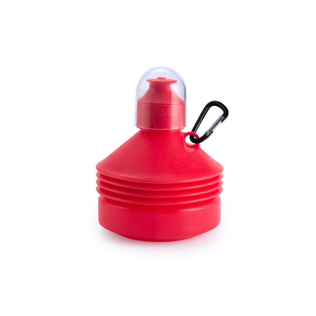 Bidón Plegable Luns - Rojo