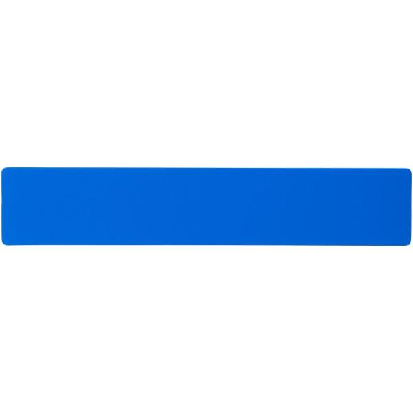 Rothko 20 cm plastic ruler - Blue