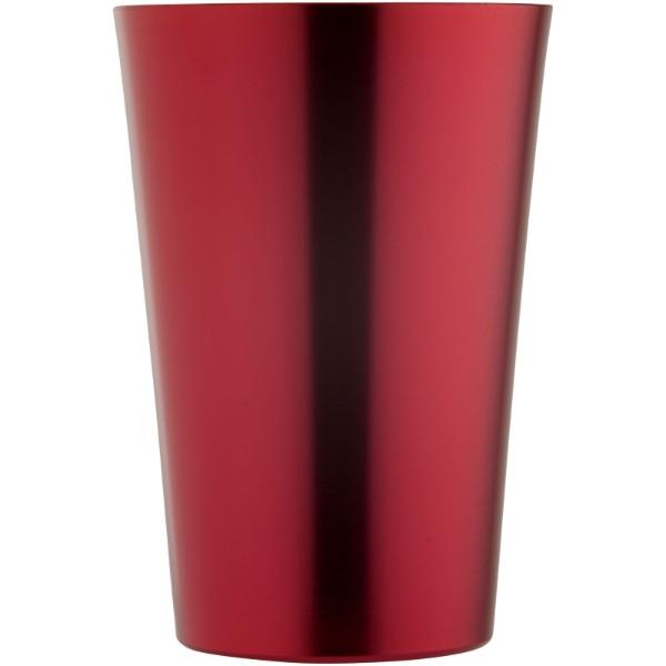 Pivní sklenice Glimmer - Červená s efektem námrazy