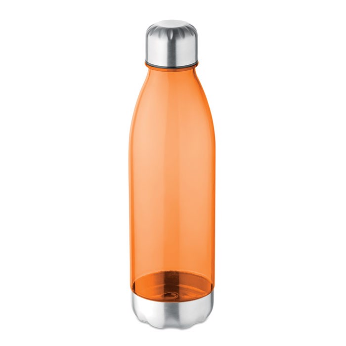 Trinkflasche Tritan 600 ml Aspen - transparent orange