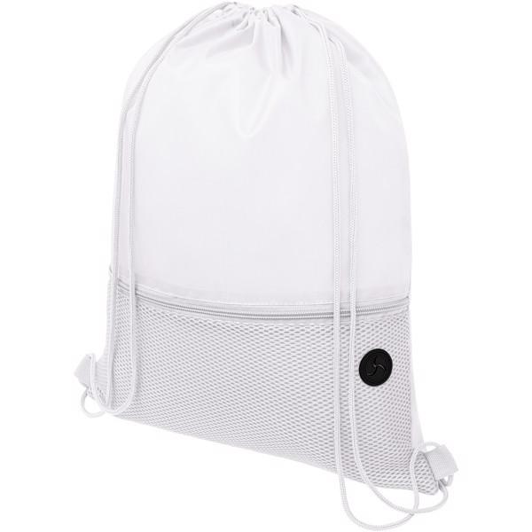 Oriole síťovaný šnůrkový batoh - Bílá