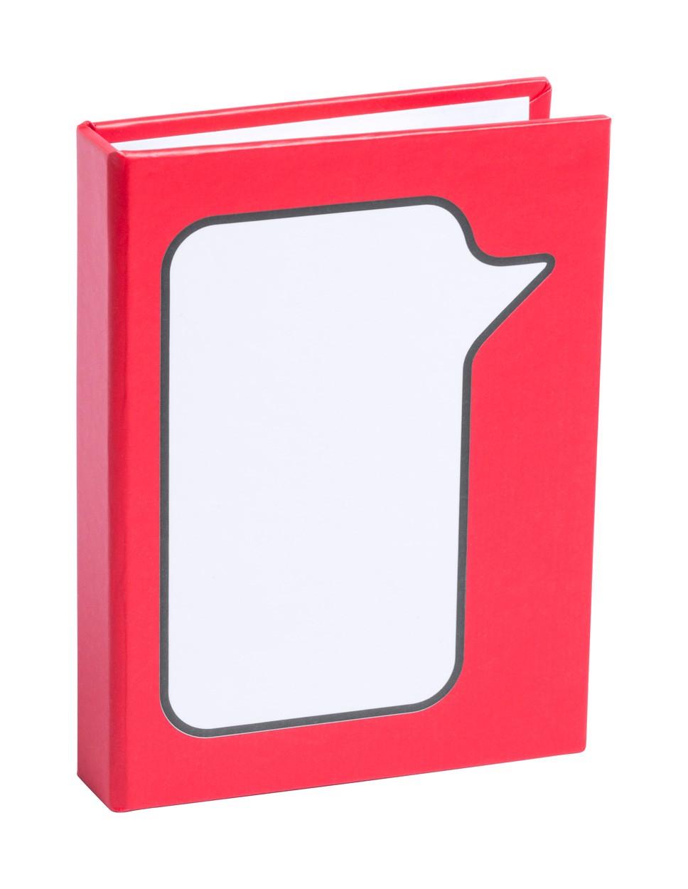 Samolepící Lístky Dosan - Červená